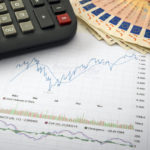 Abbildung eines 6-Monats-Charts auf Papier